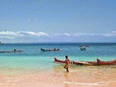 pantai pink tempat destinasi wisata terbaik populer di lombok mataram nusa tenggara barat ntb pemandangan paling menarik dekat bali gili trawangan tujuan arah lokasi traveling liburan ke mana