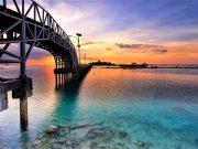tempat tujuan destinasi wisata pulau tidung kepulauan seribu jakarta pantai terbaik paling terkenal favorit pemandangan indah spot instagrammable bagus dekat penginapan pergi ke mana liburan traveling