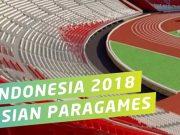 arti makna filosofi maksud tujuan logo maskot asian para games 2018 indonesia jakarta bentuk gambar simbol lambang slogan semboyan tagline warna font huruf