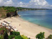 pantai dreamland beach tempat destinasi wisata terbaik best where to go arah tujuan ke mana pergi lokasi peta pemandangan alam bagus dekat kuta bandara penginapan hotel rekomendasi