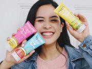 produk perawatan kulit wajah skin care merek branded lokal ponds luar manfaat kegunaan kolaborasi maudy ayunda artis selebriti varian launching rilis bahan buah-buahan terbaru