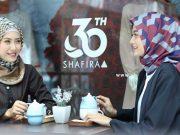 merek fashion branded lokal hijabers jilbab pakaian busana muslimah trendy stylish kekinian shafira 30 tahun perayaan rilis peluncuran koleksi world wanderer rancangan bertema masjid dunia lokal indonesia