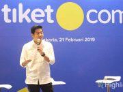 liputan event acara tiket.com online travel agent aplikasi pemesanan tiket beri banyak kemudahan manfaat jelang libur idul fitri mudik lebaran h-90 tahun 2019