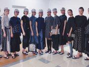 event acara kegiatan modo mode doraemon fashion show 2019 grand indonesia koleksi rancangan pakaian baju busana designer terbaru runway