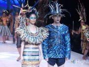 liputan event indonesia fashion week ifw 2019 eco faux bahan material desainer opening ceremony rilis ekspansi bisnis peluncuran kolaborasi kerja sama