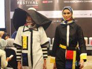 liputan event acara kegiatan muslim fashion festival muffest 2019 target pengunjung show desainer pameran merek brand produk lokal press conference release