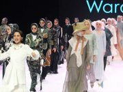 indonesia fashion week ifw 2019 wardah journey show tampilan look makeup rancangan busana pakaian modest wear muslimah desainer terkenal