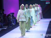 liputan event muslim fashion festival muffest desainer merek brand pakaian baju lokal indonesia kementrian tenaga kerja balai besar pengembangan latihan kerja bbplk kursus