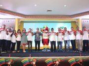 makna arti pengertian tujuan maksud filosofi logo maskot asean school games 2019 resmi diluncurkan rilis pertandingan warna bentuk simbol