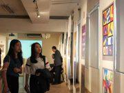 Mahasiswa Desain Komunikasi Visual Universitas Pelita Harapan ikuti pameran