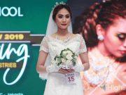Rudy Hadisuwarno School menyelenggarakan Graduation Show di Cosmobeaute Indonesia 2019