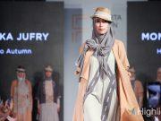 Jakarta Fashion Trend (JFT) 2020 menampilkan sejumlah koleksi pakaian muslimah rancangan desainer