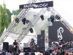 Acara konser Musikologi 2019 berlangsung di Parkir Timur Senayan GBK Area Jakarta
