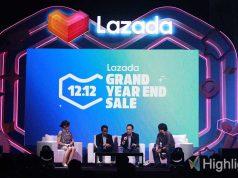 Lazada menggelar pesta diskon Hari Belanja Online Nasional (Harbolnas) atau 12.12