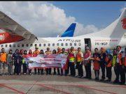 Maskapai penerbangan Wings Air membuka rute terbaru Bandung-Palembang-Bandung
