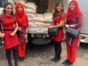 Lion Air Care memberikan bantuan donasi kepada korban bencana banjir di wilayah Jakarta