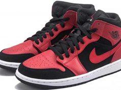 Model sepatu sneakers branded paling ngehits berwarna merah yang jadi pilihan anak muda