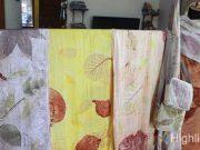 Ecoprint merupakan teknik pembuatan pola dan motif pada kain yang ramah lingkungan