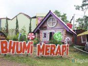 Agrowisata Bhumi Merapi merupakan tempat wisata populer di Yogyakarta ada Langlang Buana spot foto instagrammable