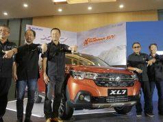 PT Suzuki Indomobil Sales (SIS) meluncurkan mobil SUV XL7 terbaru dengan spesifikasi tercanggih