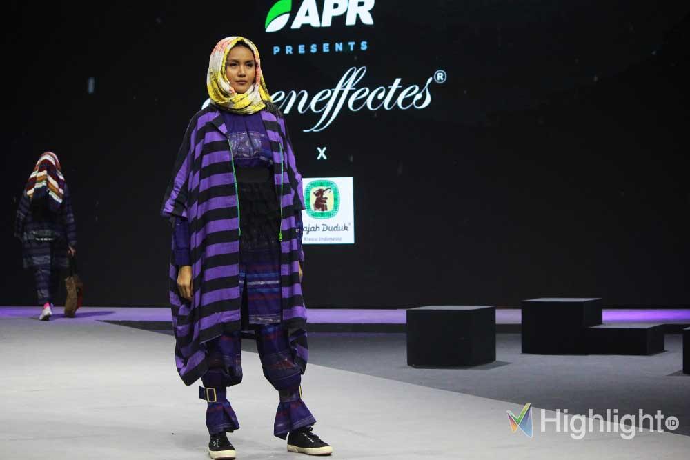 Asia Pacific Rayon (APR) berkolaborasi bersama desainer lokal pada event Muslim Fashion Festival (MUFFEST) 2020
