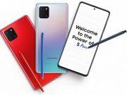 Samsung mengeluarkan smartphone terbarunya Galaxy Note10 Lite dengan fitur-fitur premium