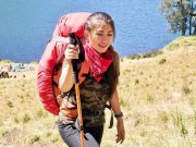 Sella Manda merupakan selebgram cantik yang hobi traveling dan naik gunung