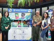 PT Unilever Indonesia Tbk memperkenalkan Refill Station untuk mengurangi sampah plastik