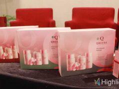 Merek kosmetik lokal Qweena meluncurkan jenis produk kecantikan kulit (skin care) terbaru