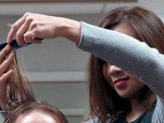 Materi pelajaran kursus sekolah lembaga pendidikan salon kecantikan hairdresser hairstylist potong rambut keterampilan
