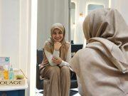 Shireen Sungkar pergi ke salon kecantikan bersama Matrix Indonesia melakukan perawatan rambut Totok Creambath Sensoria