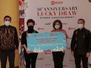 SOGO menghadirkan acara Lucky Draw yang dilakukan secara virtual memberikan hadiah perhiasan dan voucher menginap