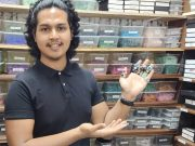 Aseel Abri pengusaha pebisnis juragan muda batu akik asal Bekasi toko online seller Lazada