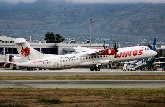 Pesawat Wings Air membuka rute penerbangan baru dari Makassar ke Palu