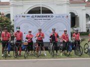 Event sepeda Kebun Raya Challenge 75K sukses digelar diikuti banyak peserta