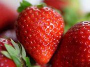 Manfaat kegunaan khasiat buah strawberi kecantikan kesehatan kulit wajah