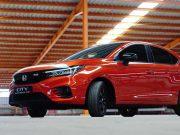 PT Honda Prospect Motor memperkenalkan Honda City Hatchback RS