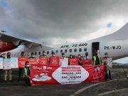 Wings Air member Lion Air Group meresmikan penerbangan rute Manado - Kao - Manado