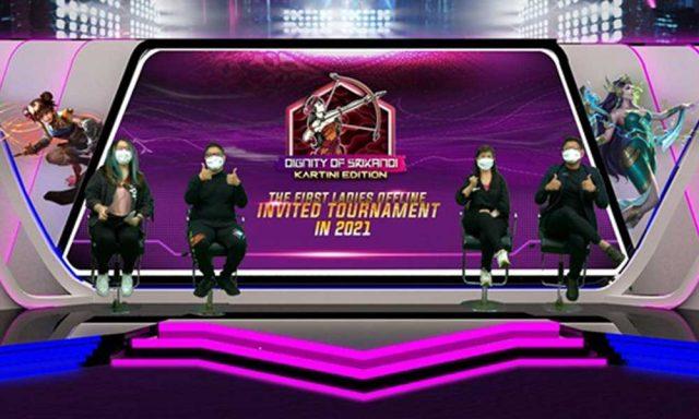 "Turnamen The First Esports Ladies Mobile Legends Dignity of Srikandi ""Kartini Edition"" 2021"