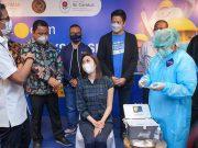 Tiket.com membuka fasilitas sentra vaksinasi di kota DKI Jakarta