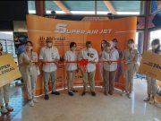 SUPER AIR JET mengumumkan pembukaan rute terbaru: Jakarta – Palembang – Jakarta