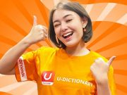 Amanda Manopo terpilih sebagai U-Dictionary Friends Indonesia pertama